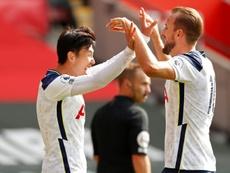 Invraisemblables stats d'Harry Kane face à Southampton. AFP