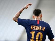 Neymar se confie sur ses moments difficiles. AFP