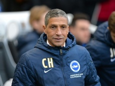 Hughton was delighted with his side's performance. AFP