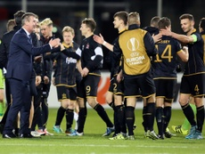 El Dundalk logró imponerse al Derry City. AFP