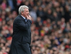 Steve Bruce has left Sheffield Wednesday and could go to Newcastle. AFP