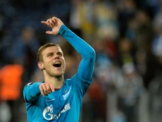 Kokorin va signer un nouveau contrat avec le Zenith. AFP