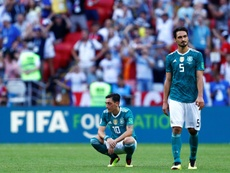 Title holders Germany exited the tournament after a shock 2-0 defeat to South Korea. AFP