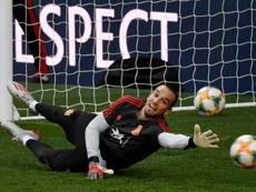 Robert Moreno dejó entrever en la sesión rotaciones ante Malta. AFP