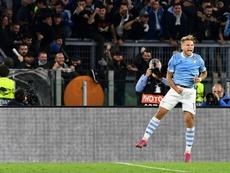 Pareggio tra Atalanta e Lazio. AFP