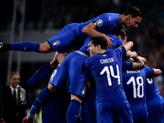 Italy will field a strong side against Finland. AFP