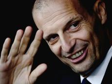 Allegri se fue con derrota de la Juventus. AFP