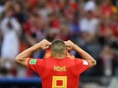 Koke no teme al error: volvería a tirar el penalti. AFP