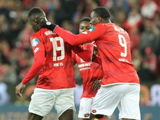 El Mainz 05 remontó al Köln. AFP/Archivo
