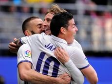 El Inter Miami de Beckham quiere fichar en el Real Madrid. AFP