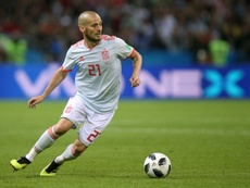 Silva quit Spain duty to spend more time with his baby son. AFP