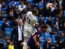 L'agent de Bale s'est à nouveau confié sur son avenir. AFP