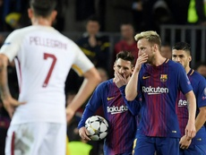 Raktic and his team were knocked out by Roma last season. AFP