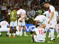England were beaten in the World Cup semi-finals by Croatia. AFP
