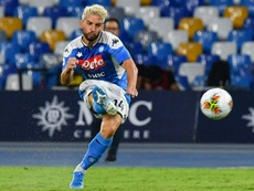 Mertens has no problem in playing in Barcelona. AFP