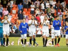 El Valencia visita al Lille. AFP