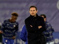 Lampard discutió con un periodista. AFP