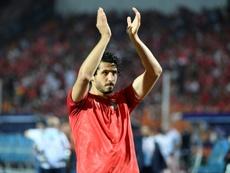 En Arabia Saudí suspiran por Hegazi... pero el WBA no quiere dejarle ir. AFP