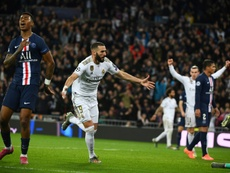 Benzema had not scored against PSG since 2006. AFP