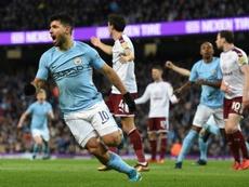 Manchester City won the fixture 3-0 last season. AFP