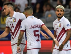 Venezuela y Colombia jugarán un amistoso en Septiembre. AFP