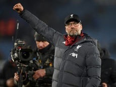 Klopp analysed the victory. AFP