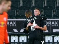 Leipzig lose to Gladbach. AFP