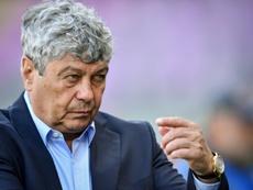 Lucescu dimitió cuatro días después por las críticas de los ultras. AFP