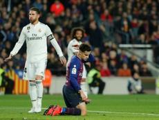Coutinho pourrait être utilisé comme monnaie d'echange par le FC Barcelone cet été. AFP