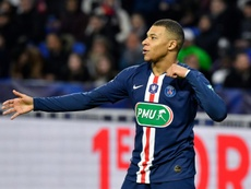 Mbappé is reportedly flattered by Mbappé's interest. AFP