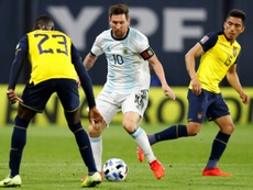 Messi hails importance of Argentina win after international absence. AFP