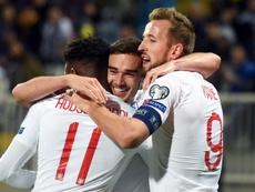 Inglaterra comenzará a preparar la Euro ante Italia. AFP