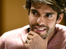 Kaká thinks Neymar could be the best in the world. AFP