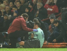 Holding has completed successful surgery on a knee ligament injury. AFP