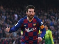Messi is has got a huge five goal advantage at the top of the 2019-20 La Liga top scorers list. AFP