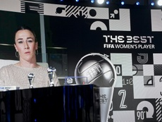 Bronze wins FIFA player of the year award. AFP