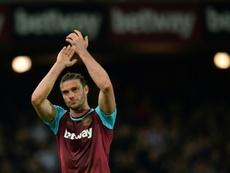 Carroll soufrait d'une blessure au genou. AFP