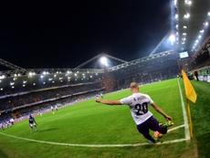 Borja Valero volverá a la Fiorentina. AFP