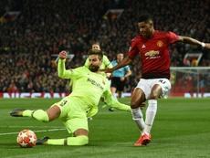 Le Barça a battu United sur le score de 1-0. AFP