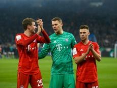 La Bundesliga informó de la suspensión a través de un comunicado oficial. AFP