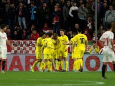 El Villarreal alcanzó 300 victorias en Primera. EFE