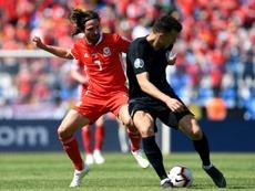 Croacia venció a Gales pese a la emoción final. AFP