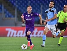 Le formazioni ufficiali di Fiorentina-Hellas Verona. AFP