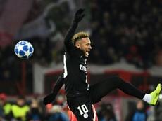 Neymar repasó su situación en el PSG. AFP