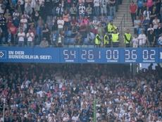El famoso reloj del Hamburgo no volverá a dar la hora nunca más. AFP/Archivo