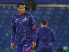 Chelsea envisage de prolonger Thiago Silva. afp