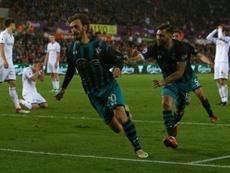 O Southampton bateu o Swansea por 0-1. AFP