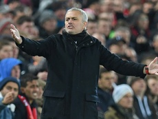 Mourinho has come under fire after his side's latest defeat. AFP