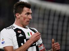 Manduzkic podría dejar la Juve. AFP