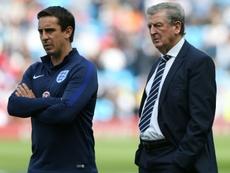 Gary Neville se quedó a gusto criticando al United. AFP